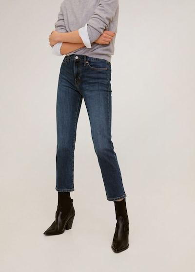 MANGO Jeans 'Newgrace' in dunkelblau: Frontalansicht