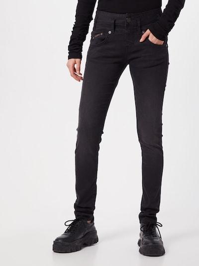 Herrlicher Jeans 'Pearl Slim' in schwarz, Modelansicht