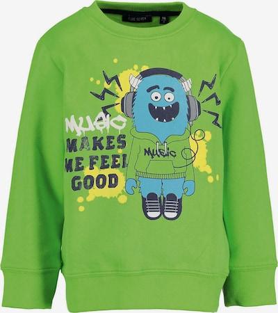 BLUE SEVEN Sweatshirt in hellgrün, Produktansicht