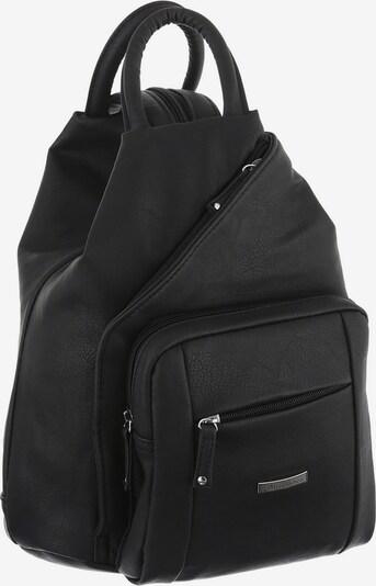 J. Jayz Cityrucksack in schwarz, Produktansicht