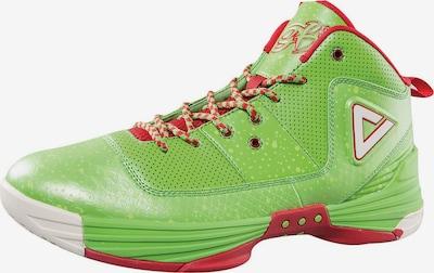 PEAK Basketballshoe 'Monster GH30' in grün / rot, Produktansicht