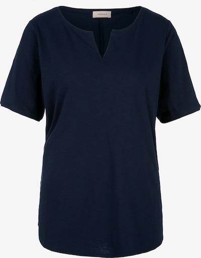 TRIANGLE Shirt in dunkelblau, Produktansicht