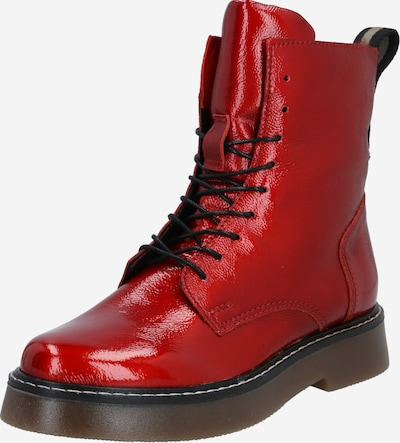 MJUS Veterlaarsjes 'Tris' in de kleur Rood, Productweergave