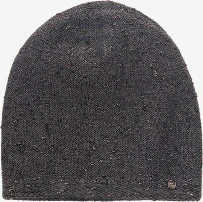 Finn Flare Wollmütze mit glitzernden Elementen in grau, Produktansicht