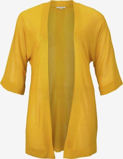 MY TRUE ME Strickjacke in gelb, Produktansicht