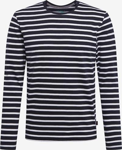 ESPRIT T-Shirt en bleu marine / blanc: Vue de face