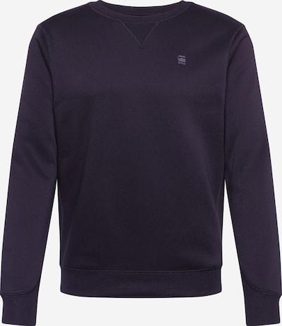 G-Star RAW Sweatshirt 'Premium core r sw l\s' in de kleur Zwart, Productweergave