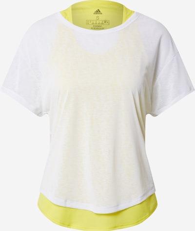 ADIDAS PERFORMANCE Functioneel shirt in de kleur Neongroen / Wit, Productweergave