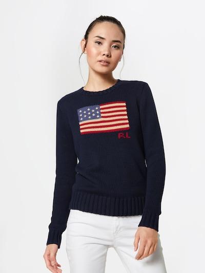 POLO RALPH LAUREN Sweter w kolorze granatowym: Widok z przodu