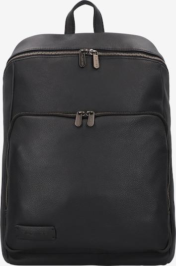 Plevier Rucksack in schwarz, Produktansicht