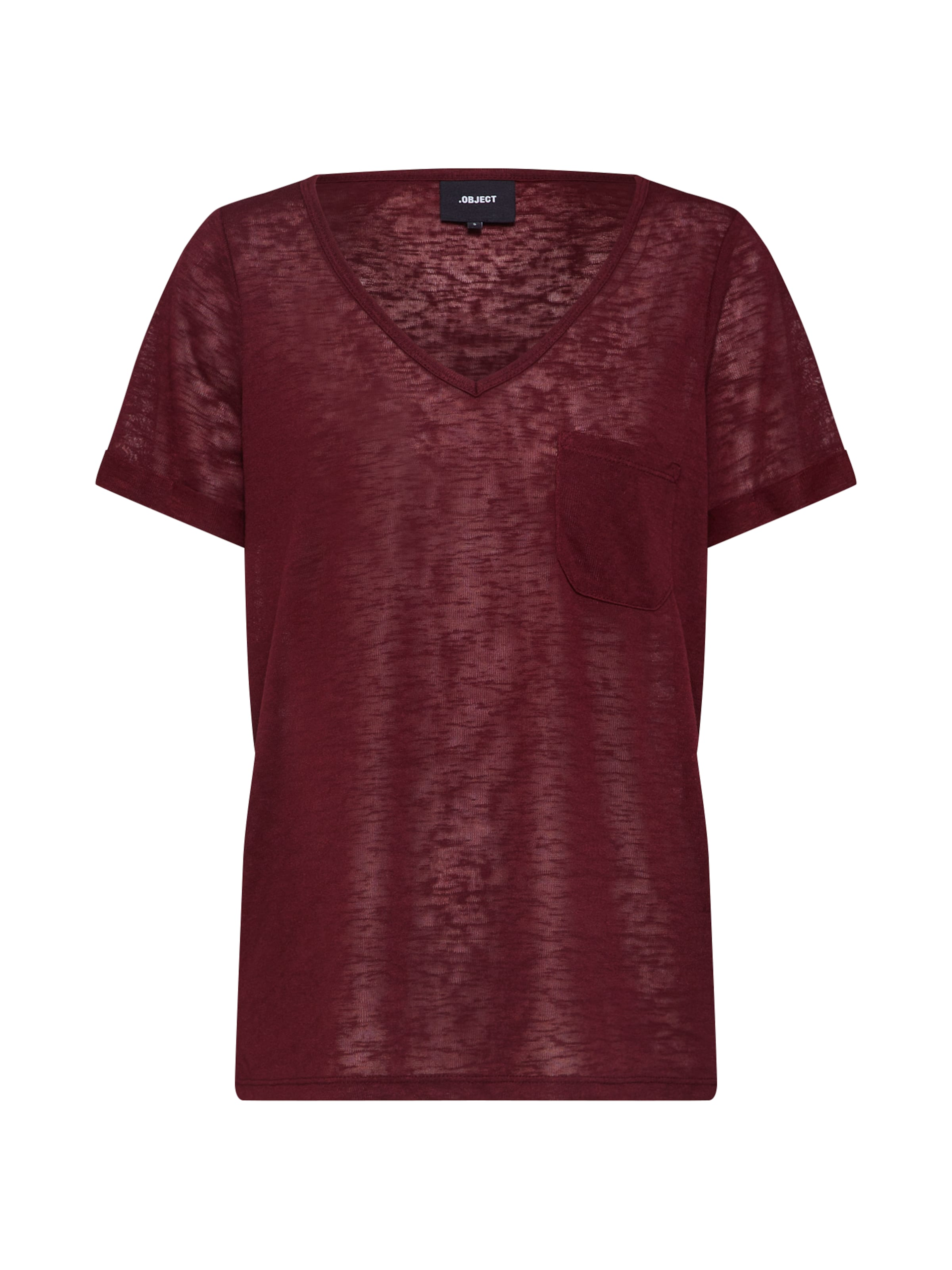 T shirt In Object 'objtessi' Burgunder oxBCeWrd