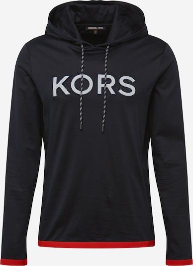 Michael Kors Sweatshirt in dunkelblau / rot / weiß: Frontalansicht