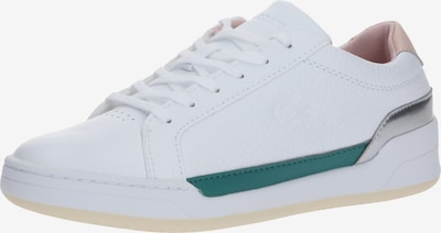 LACOSTE Sneaker 'CHALLENGE 120 3 SFA' in grün / rosé / weiß, Produktansicht