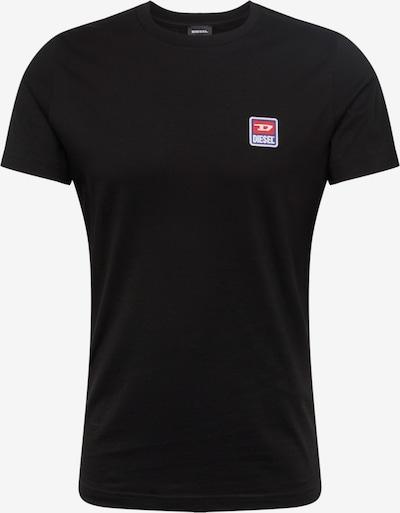 DIESEL Tričko 'T-DIEGO-DIV HEMD' - černá, Produkt