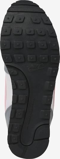Nike Sportswear Sneaker 'Runner 2 (GS)' in grau / hellgrau / rosa: Ansicht von unten