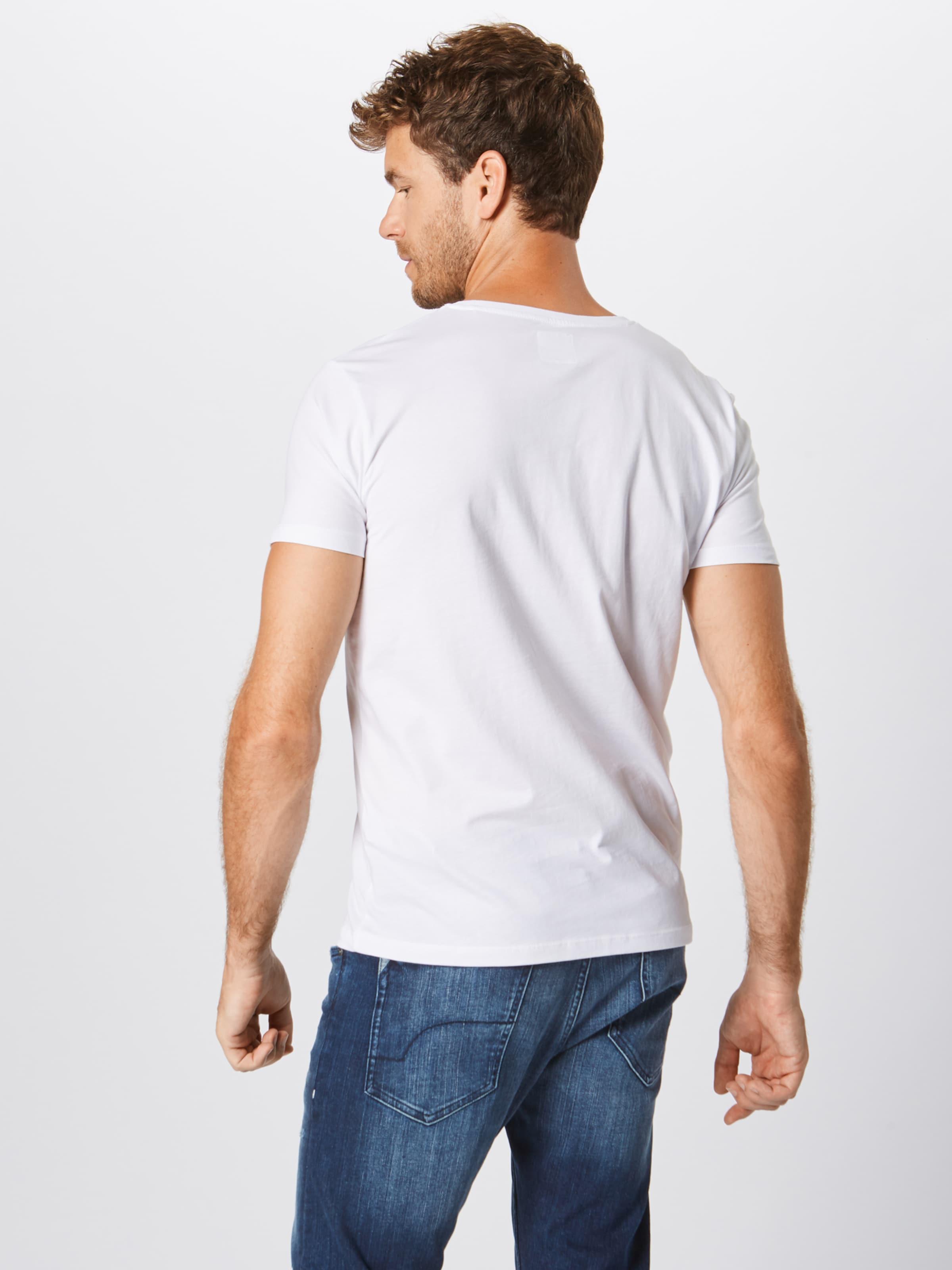 En shirt Edc Esprit T Blanc By jLUpGVSqzM
