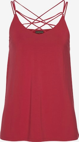 LASCANA Top in Rood