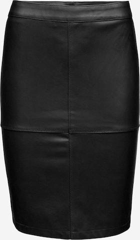 VILA Kjol 'Vipen' i svart