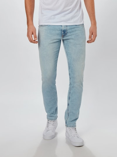 DIESEL Jeans 'THOMMER-X' in blue denim, Modelansicht