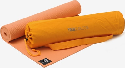 YOGISTAR.COM Yoga-set Starter Edition in orange, Produktansicht