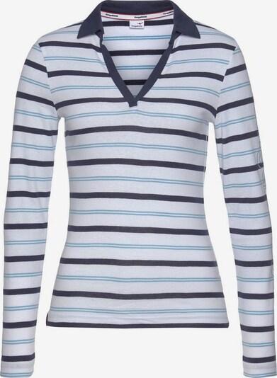KangaROOS Poloshirt in blau / weiß, Produktansicht