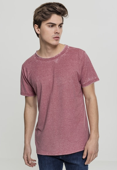 Urban Classics T-Shirt in pastellrot: Frontalansicht