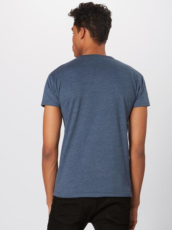shirt 'lucky' Foncé T Derbe En Bleu UVSqzMpLG