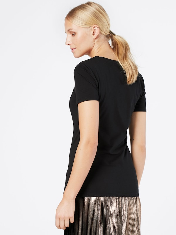 shirt T Drykorn Noir En 'natina' BWCxdreo
