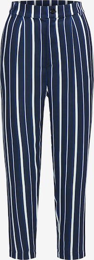 BROADWAY NYC FASHION Hose 'Pants Poppy' in dunkelblau / weiß, Produktansicht