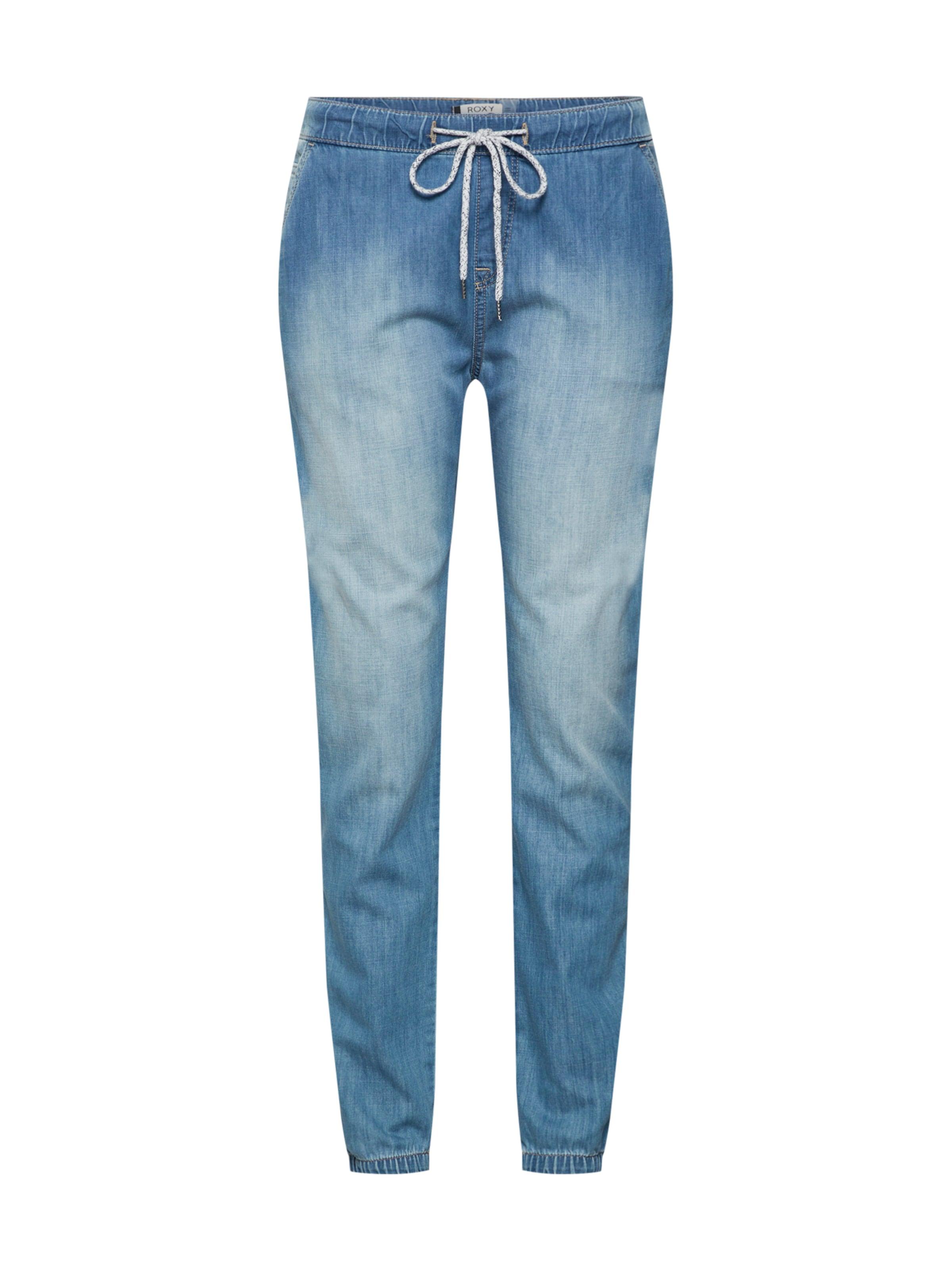 Roxy In Blue 'beachy' Jeans Denim shxtrQdC