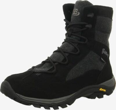 Brütting Boots in dunkelgrau / schwarz, Produktansicht