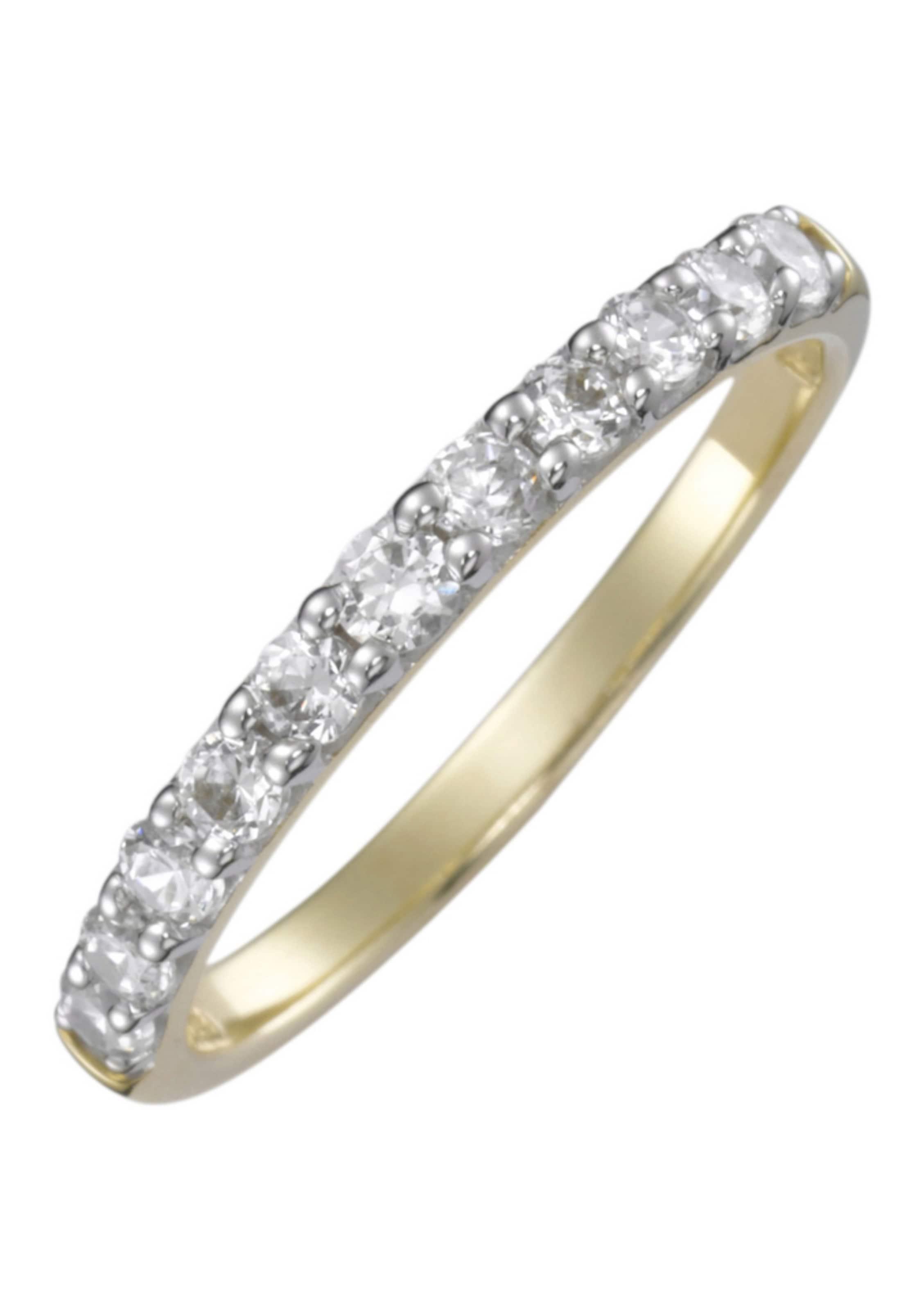 VerlobungsringVorsteckring Silber MemoireGelbgold Gold In Firetti ZuXkPi