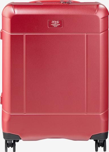Jump Kabinentrolley 'Bleecker' in rot, Produktansicht