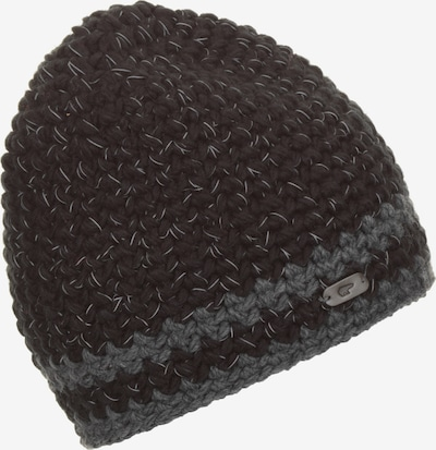 Eisbär Mütze in grau / dunkelgrau, Produktansicht