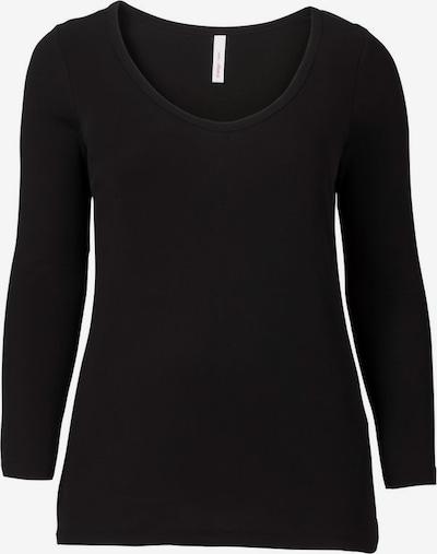 SHEEGO T-shirt en noir, Vue avec produit