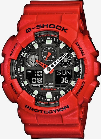 CASIO G-SHOCK in Rot