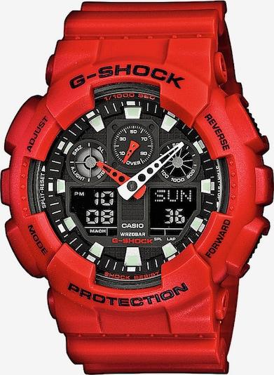 CASIO G-SHOCK in rot / schwarz, Produktansicht