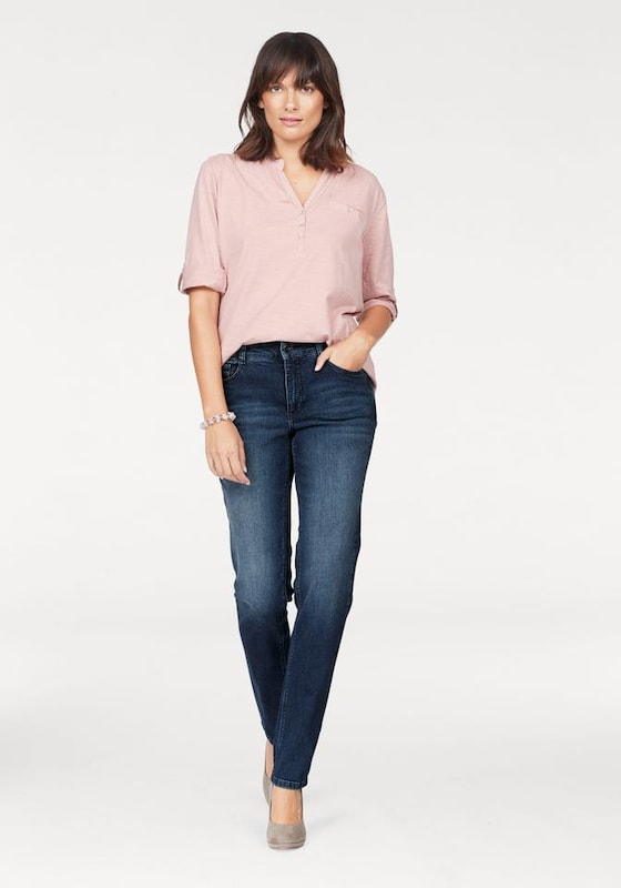 MAC Stretch-Jeans 'Melanie Pipe Smart'