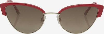 TOM TAILOR Sonnenbrille in gold / rot, Produktansicht