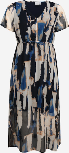 Junarose Kleid 'JRFANA SS MAXI DRESS GA - K' in dunkelblau, Produktansicht