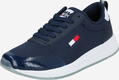 Tommy Jeans Baskets basses en bleu foncé / blanc, Vue avec produit