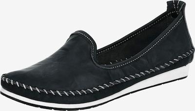 ANDREA CONTI Komfort-Slipper in schwarz / weiß: Frontalansicht