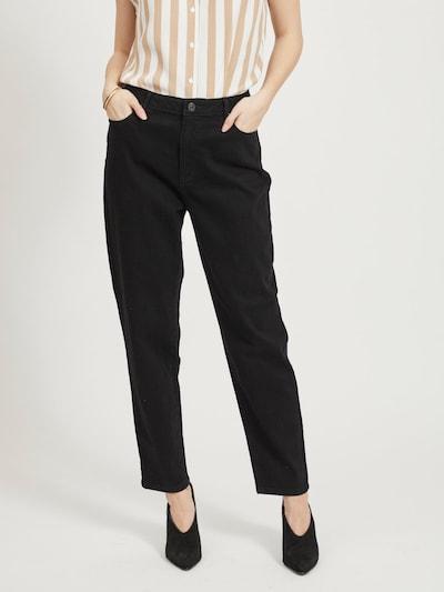 VILA Jeans in de kleur Zwart, Modelweergave