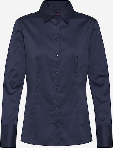 Chemisier 'The Fitted Shirt' HUGO en bleu