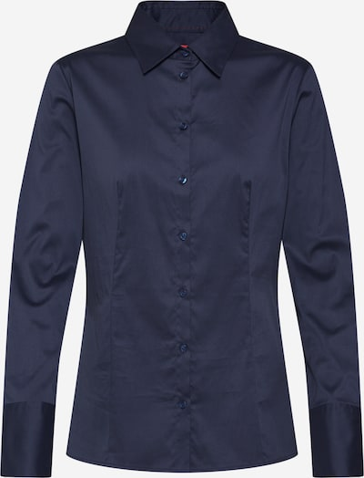 HUGO Bluse 'The Fitted Shirt' in navy, Produktansicht