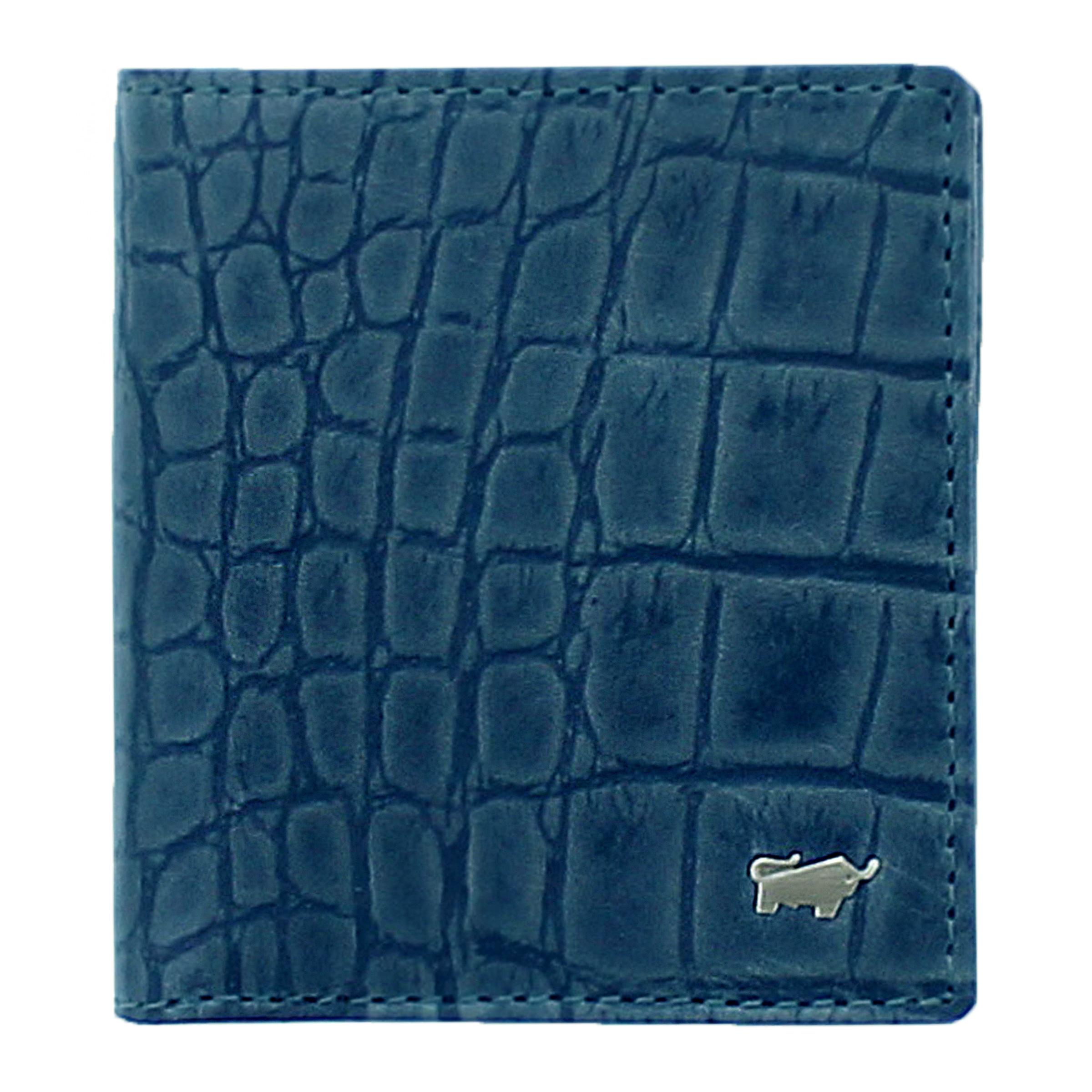 'lisboa' Blau In Geldbörse Büffel Braun shBCtdxQr