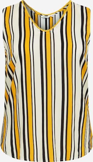 MY TRUE ME Blouse in de kleur Geel / Zwart / Wit, Productweergave