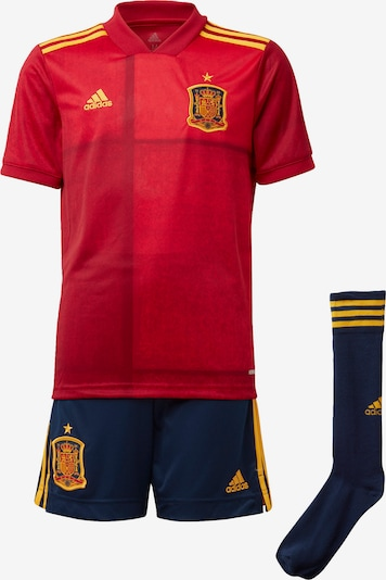 ADIDAS PERFORMANCE Set in navy / gold / feuerrot, Produktansicht