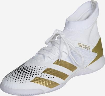 ADIDAS PERFORMANCE Chaussure de foot 'Predator Mutator 20.3 IN' en or / blanc, Vue avec produit