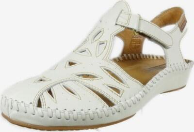 PIKOLINOS Sandale in hellbraun / naturweiß, Produktansicht